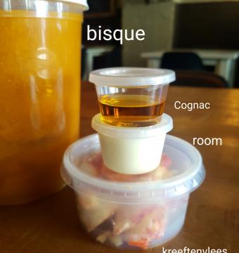 Bisque van kreeft (per liter)