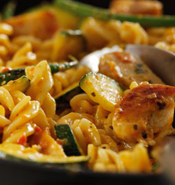 pasta kip curry