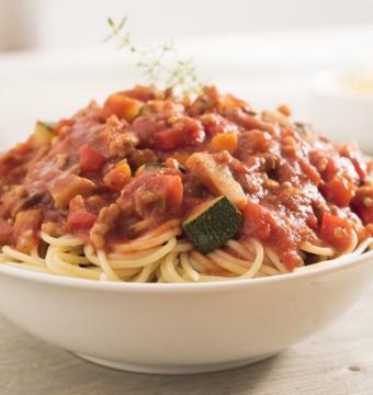 Spaghettisaus Veggie (+- 0,5 kg)