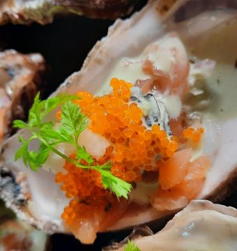 Pittige oester Cancale Bretagne (per stuk)
