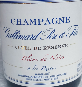 Champagne Domaine Gallimard