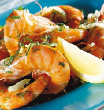 scampi 9st currysaus