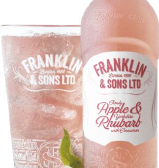 Franklin and sons - appel/rabarber