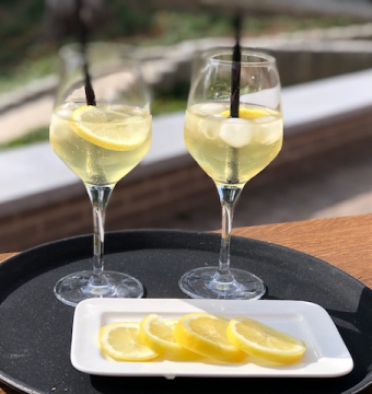 Huisbereide limoncello (1/2 l)