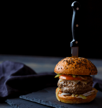 TOPPER - Home made  Angus burger