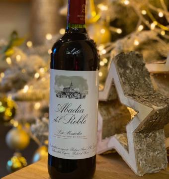 Rode wijn Abadia del Roble Rosado – La Mancha – Tempranillo