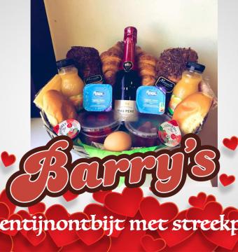 Luxe Valentijnontbijt met streekproducten