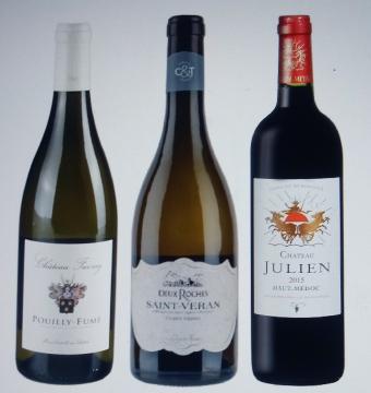 Aangepast wijnarrangement 3 flessen