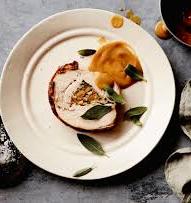Gevulde kalkoenrollade | Appel | Calvados  | Truffelgratin