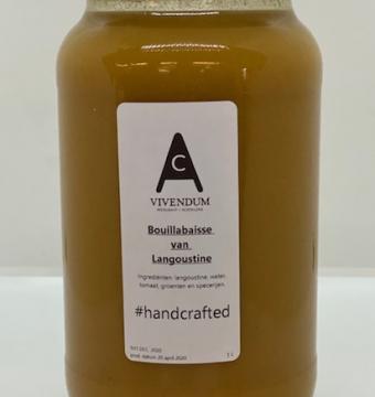 bouillabaise langoustines (vissoep) 1 liter