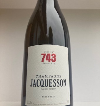 CHAMPAGNE JASQUESSON CUVÉE 743 extra brut