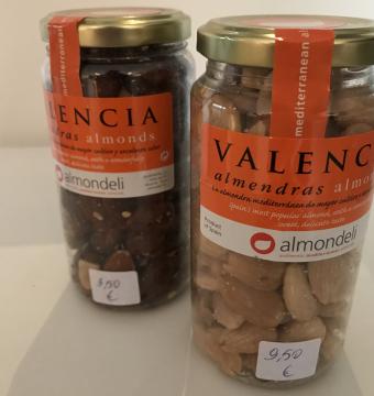 Almondeli ! Geroosterde amandelen uit Valencia - 215 G.