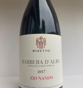 BARBERA D'ALBA ZIO NANDO 2017