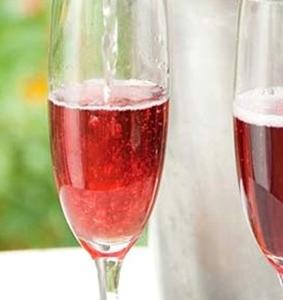 Fles rosé proscecco