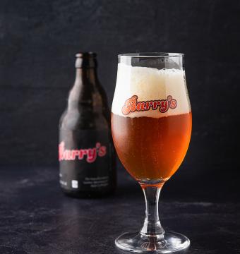 Mandje Barry's Beer 6 flesjes
