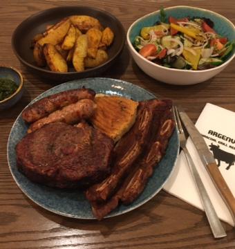 Mixed Grill met vlees voor 2 pers.