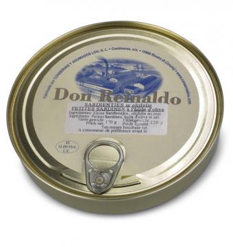 "Sardientjes in olie ""Don Reinaldo"""