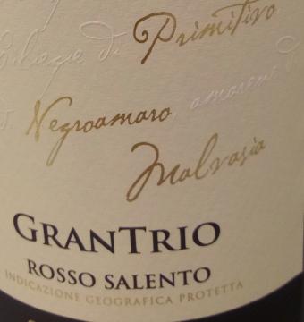 Grantrio rosso Salento (rood)