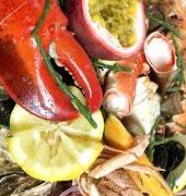 Luxe visbuffet inclusief rauwkostbereidingen, sausjes & aardappelsalade