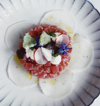 Tartaar van rode tonijn