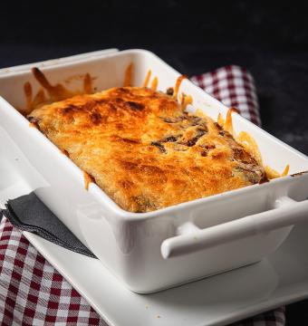 lasagne -  zalm - spinazie
